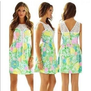 Lilly Pulitzer Raegan Hibiscus Stroll dress